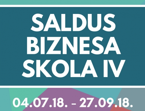 Application for FOURTH Saldus Business School has begun