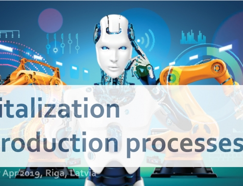 "B2B event ""Digitalization in Production processes"""