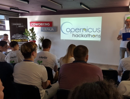Copernicus environmental solutions hakaton in Liepaja has ended