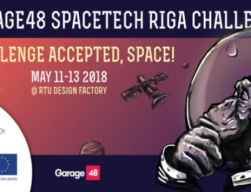Norisināsies Garage48 SpaceTech Riga Chalenge hakatons