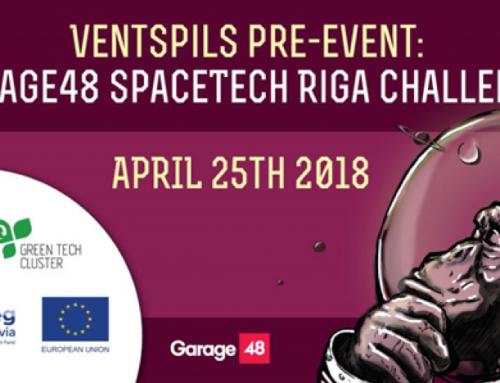 Garage48 SpaceTech Riga Challenge pre-event in Ventspils