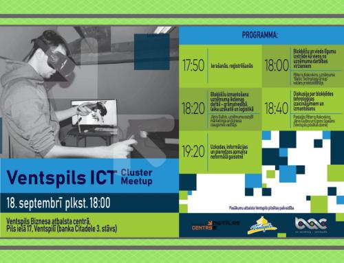 ICT Cluster Meetup par blokķēdēm